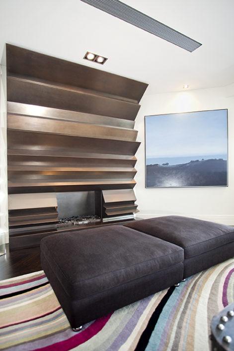 Custom cabinetry in Woolahra renovation by Sydney Beach Homes, custom builders