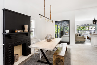Freshwater renovation dining room by Sydney Beach Homes